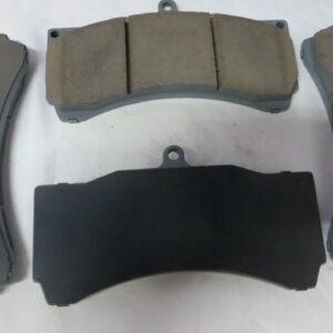 Тормозные колодки D2 Racing для 6-ти поршневых суппортов, под диски 330-356 мм