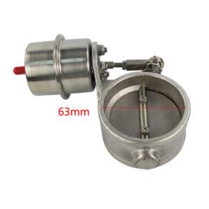 Заслонка на выхлоп 63 мм с актюатором