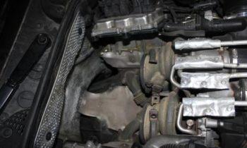 Установка ДаунПайпа BMW F10 M5 2012+ F12