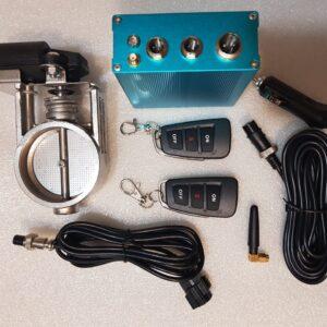 Электронная заслонка для глушителя 63 мм и 76мм