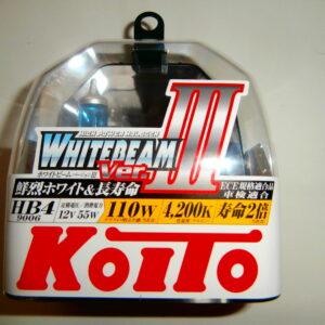 Японские лампы Koito P0757W (WhiteBeam ver.3) HB4