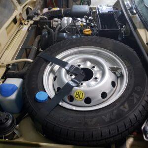 Диск колесный в сборе ВАЗ-2121-21214 R16 /Запаска/